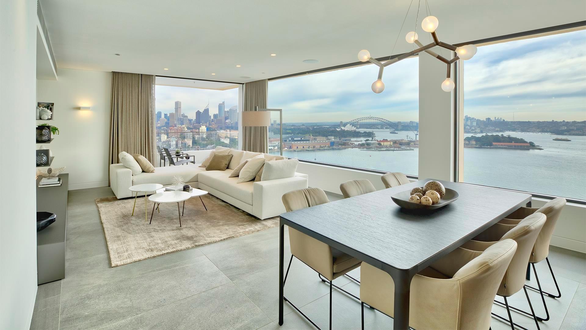 privatwohnung darling point fliesen und b den aus feinsteinzeug und kerlite. Black Bedroom Furniture Sets. Home Design Ideas